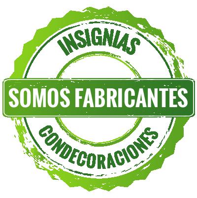 Somos fabricantes de insignias y condecoraciones