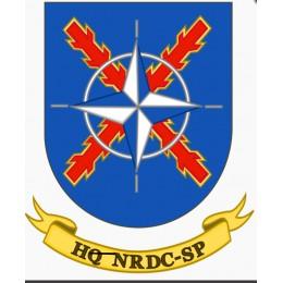 Pegatina Ejercito HQ NRDC - SP