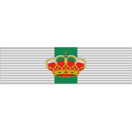 Pasador de condecoración Gran Cruz del Merito Militar distintivo amarillo