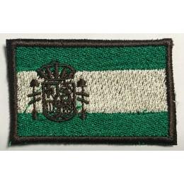 Parche Bordado Bandera Brazo ESPAÑA Woodland