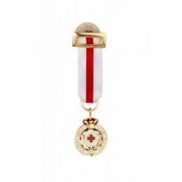 Medalla miniatura Cruz Roja