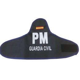 Brazalete Bordado Azul PM Guardia Civil