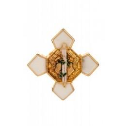 Pin Cruz Mérito Policial