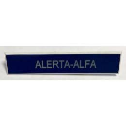 Rectángulo identificación personal Ejército del Aire con grabación