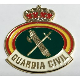 Chapa cartera Guardia Civil pequeña