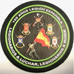 Parche pvc 100 años legión española