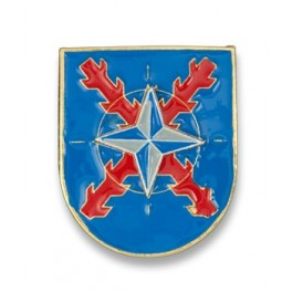 Llavero COE GOE machete y roble bicolor operaciones especiales insignia militar
