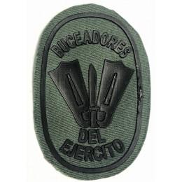 Parche de pecho Buceadores del Ejército Verde