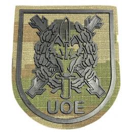 Parche de brazo UOE Verde Pixelado