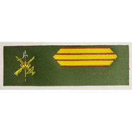Galleta identificación Legión Brigada Camuflaje