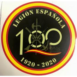 Pegatina Legión Española Centenario 1920-2020