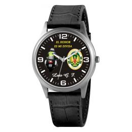 Reloj de Piel Guardia Civil Tráfico Negro