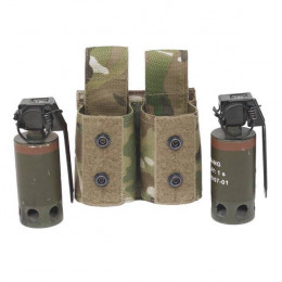 Funda Warrior Assault Granada Pequeña Doble Multicam