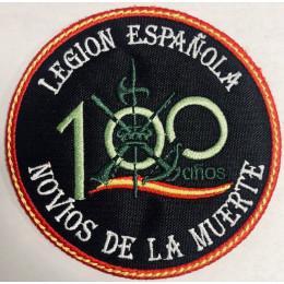"""Parche Bordado Legion Española """"Novios de la muerte"""" 100 años"""