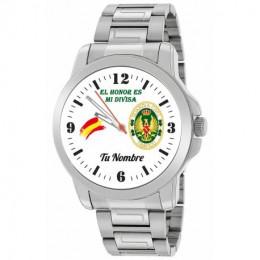 Reloj de Acero Guardia Civil de Tráfico
