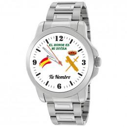 Reloj de Acero Guardia Civil