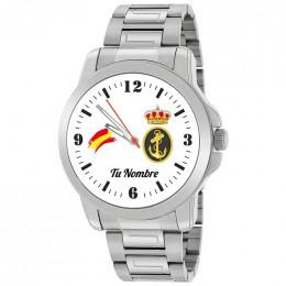 Reloj de Acero Armada Española