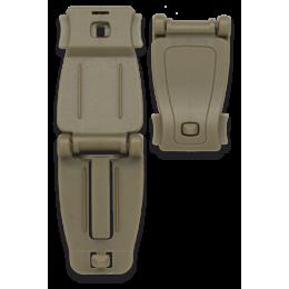 Accesorio Sujeción ABS Molle Coyote ( 2 Unidades)