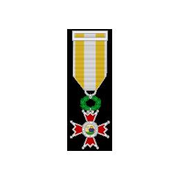 Medalla Miniatura Cruz de Plata Isabel la Católica