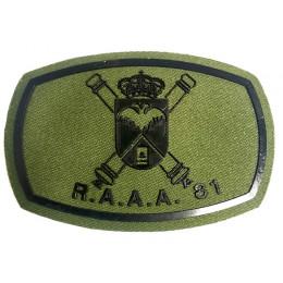 Parche Verde R.A.A.A 81