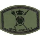 Parche Brigada Mecanizada Grupo Logístico X