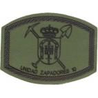 Parche Brigada Mecanizada Unidad Zapadores 10