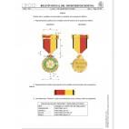 Conjunto Medalla Conmemorativa de la Operación Balmis (Cobre)