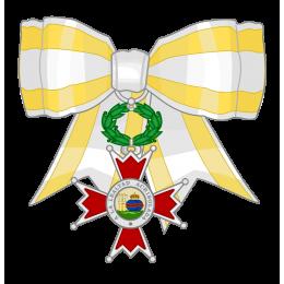Cruz de Plata Lazo de Dama Isabel la Católica