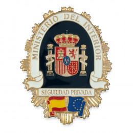 Chapa cartera Seguridad Privada del Ministerio del Interior