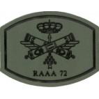 Parche Regimiento de Artillería Antiaérea 72 RAAA 72
