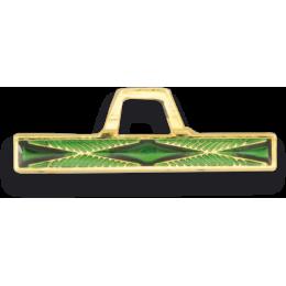 Barra verde con angulo distintivo montaña (1 año)