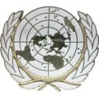 Emblema de boina ONU