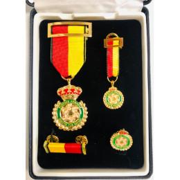 Conjunto Completo Medalla Conmemorativa de la Operación Balmis (Cobre)