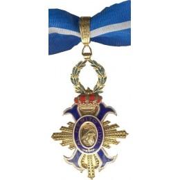 Encomienda del Orden Merito Civil Oro