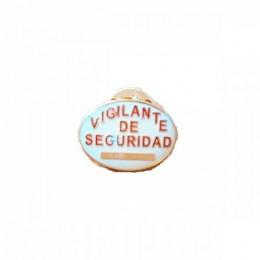 Pin vigilante de seguridad