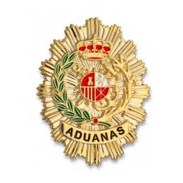 Chapa cartera Aduanas