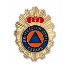 Chapa cartera Protección Civil