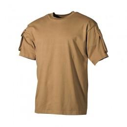 Camiseta Táctica MFH Coyote
