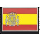 Parche Mochila Bandera España PVC Color