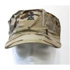 Gorra Teresiana Infantería Marina Árida Pixelada