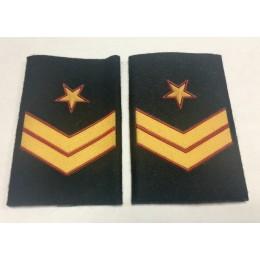 Manguito Caballería Ejército de Tierra Suboficial Mayor (Par)