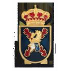 Distintivo de permanencia Cuartel General Terrestre de la FMA