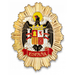 Chapa cartera Guardia Real Española