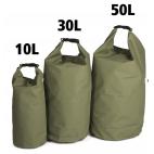 Bolsas Estancas Miltec Verde (Diferentes Litros)