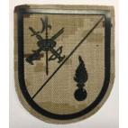 Parche La Legión Cuartel General Verde Pìxelado