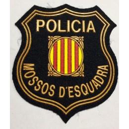 Parche Policia Mossos D´Escuadra