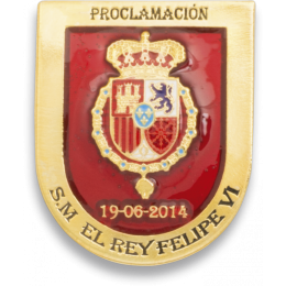 Distintivo Proclamación Felipe VI