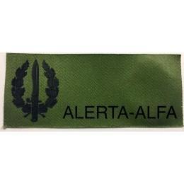 Galleta de Identificación en PVC Veteranos GOES Verde