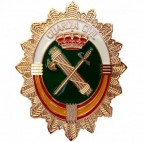 Chapa de Cartera Guardia Civil Nueva Vertical Escudo Grande (Requiere Acreditación)