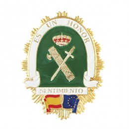 Chapa de cartera Guardia Civil Sentimiento